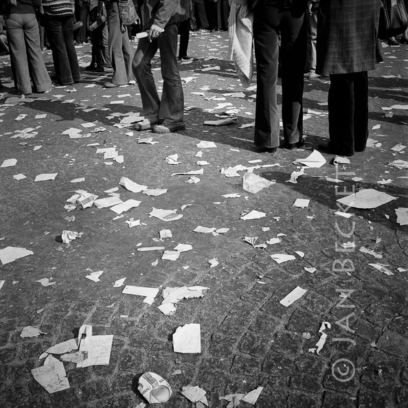 May Day, Bastille, 1976